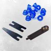 Machine Parts + Accessories