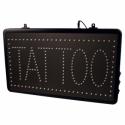 Szyld LED z łańcuszkiem do zawieszenia - Tattoo