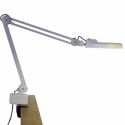 Lampa biurkowa ze szkłem powiększającym