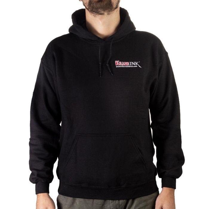 Bluza z kapturem z logo Killer Ink, kolor: czarny