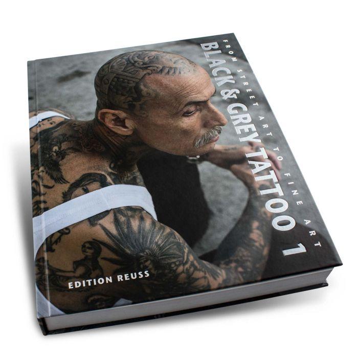 """Książka: """"Black & Grey Tattoo"""", t. 1 (Edition Reuss)"""