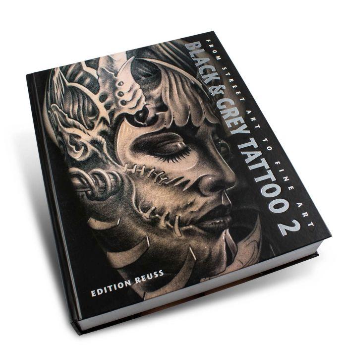 """Książka: """"Black & Grey Tattoo"""", t. 2 (Edition Reuss)"""