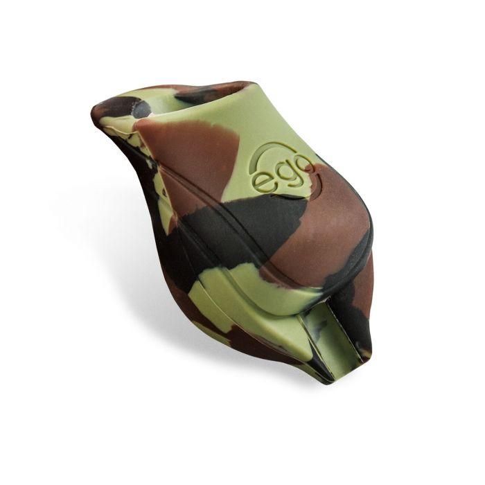 Pakiet 2 silikonowych nakładek na rury EGO Biogrip, kolor: camo green - rury do fi 25mm