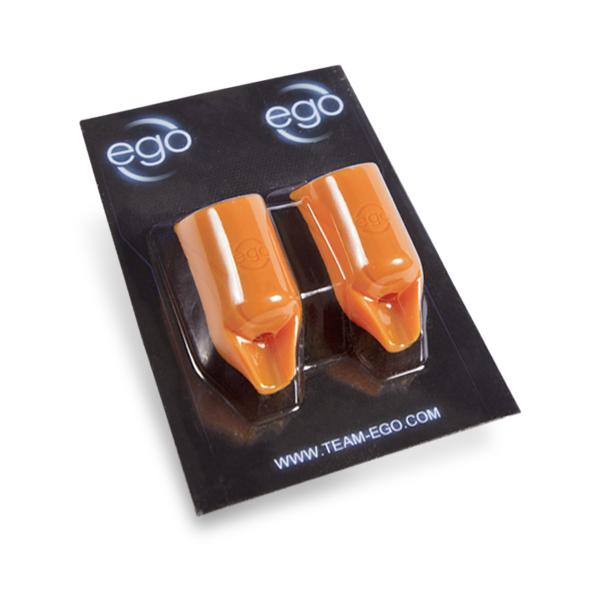 Pakiet 2 silikonowych nakładek na rury EGO Biogrip (model prosty), kolor: pomarańczowy- rury do fi 19MM