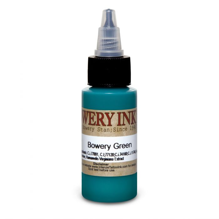 Intenze Bowery Ink by Stan Moskowitz Green 30ml