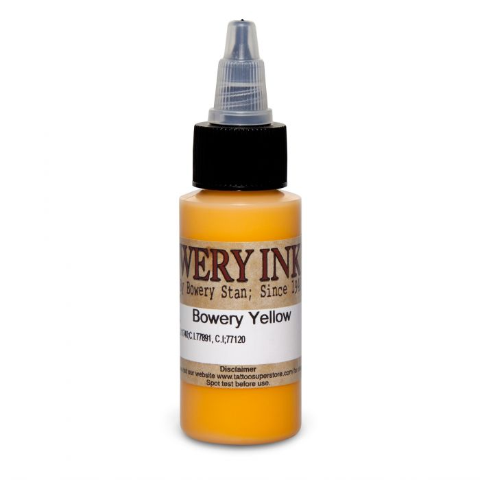 Intenze Bowery Ink by Stan Moskowitz Yellow 30ml