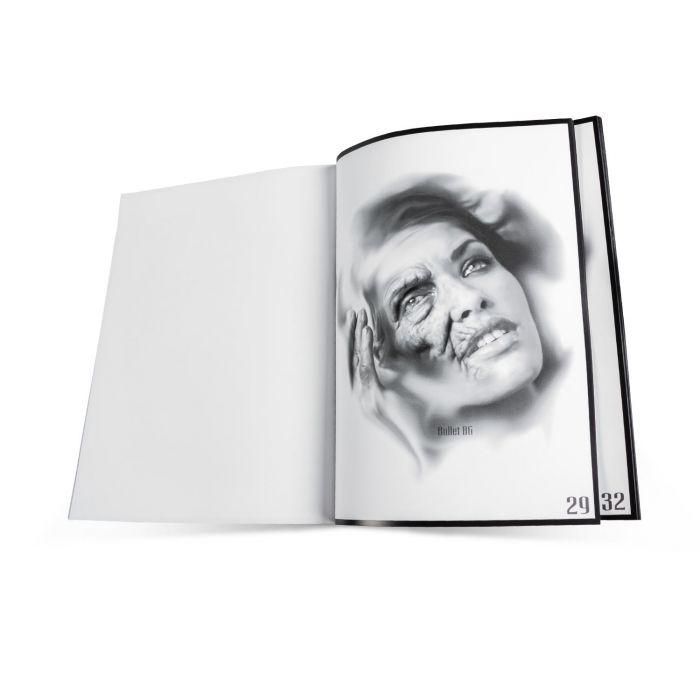 "Książka: ""Digital Artwork"", Bullet BG"