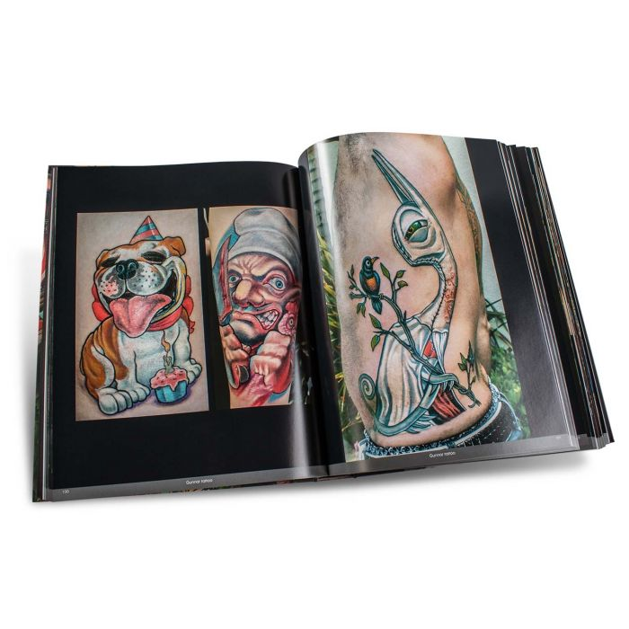 "Książka ""Color Tattoo Art: Comics, Cartoon, Pin-Up, Manga + New School"" (Edition Reuss)"
