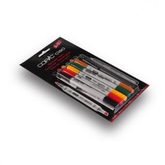 Markery Copic CIAO - Hues - Pakiet 5+1