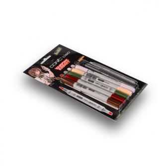 Markery Copic CIAO - Vampire Knight - Pakiet 5+1