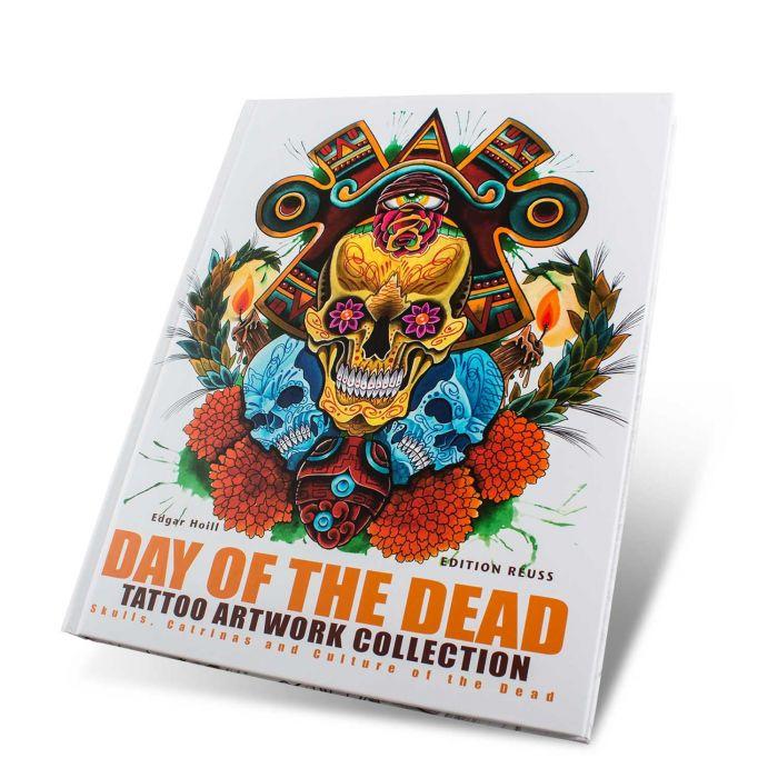 "Książka: ""Day of the Dead: Tattoo Art Collection"" (Edition Reuss)"