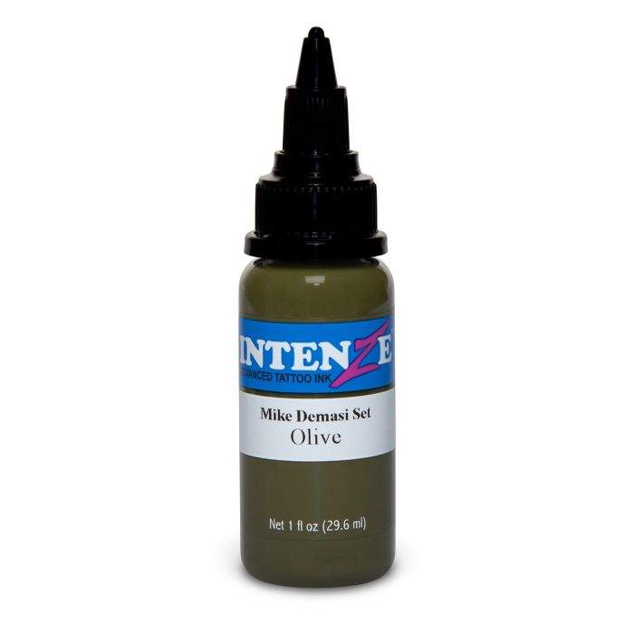 Farba do tatuażu Intenze Mike DeMasi Olive Portrait 30ml