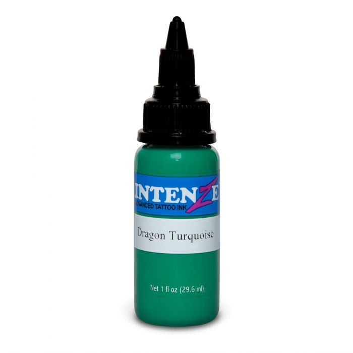 Farba do tatuażu Intenze Dragon Turquoise 30ml