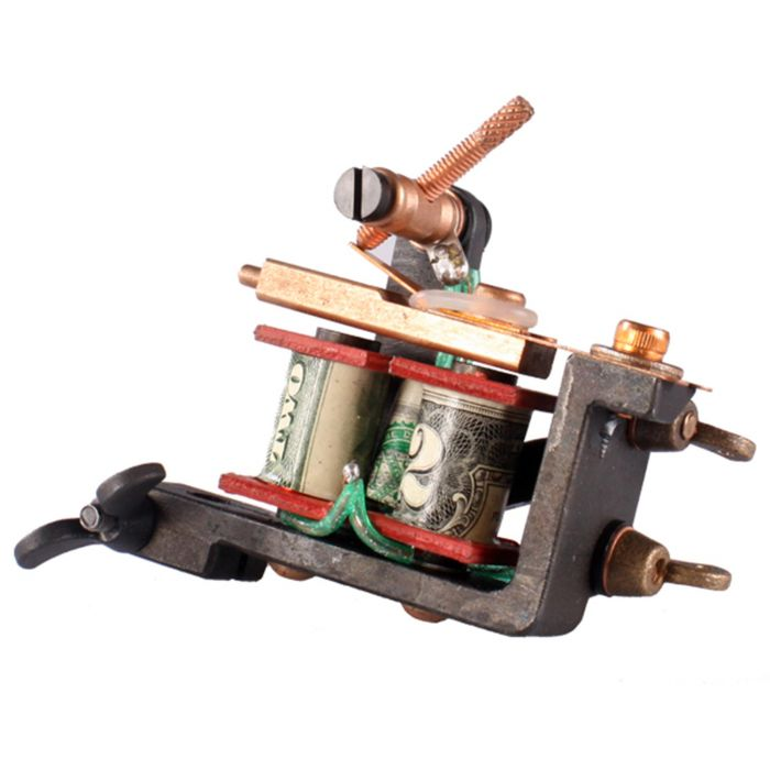 Maszynka do tatuażu Emillion Minijones  (Produkcja NL) - dostępne warianty: Liner lub Shader