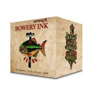 Zestaw farb do tatuażu Intenze Bowery Ink by Stan Moskowitz 8 x 30ml