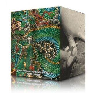 Zestaw farb do tatuażu Intenze Dragon 6 x 30ml