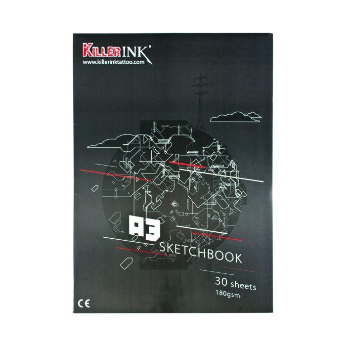 Szkicownik Killer Ink 180GSM A3 lub A4 (30 kartek)