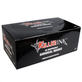Maseczki chirurgiczne Killer Ink, 50 szt.