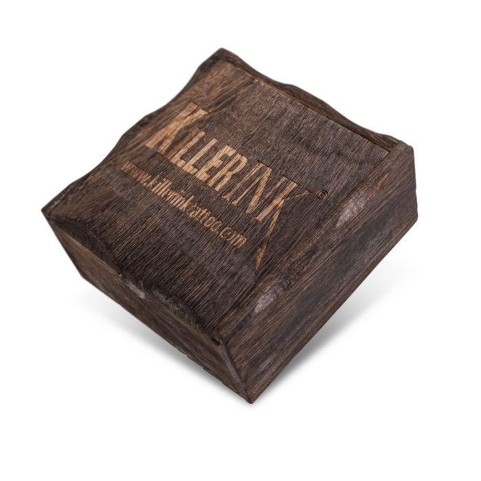Pudełko drewniane na maszynkę do tatuażu
