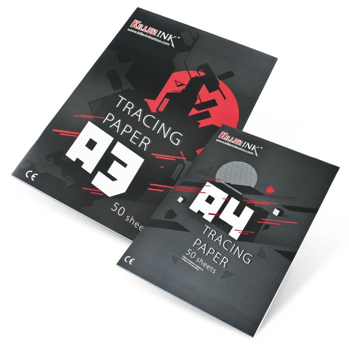 Kalka techniczna do kopiowania Killer Ink 63GSM A3 lub A4 (50 kartek)