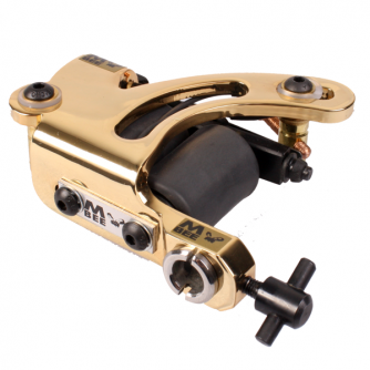 Maszynka do tatuażu Micky Bee Original Brass Lightning Colour Packer / Shader - Produkcja UK