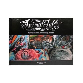 "Książka: ""Animal Ink"", Mike De Vries"