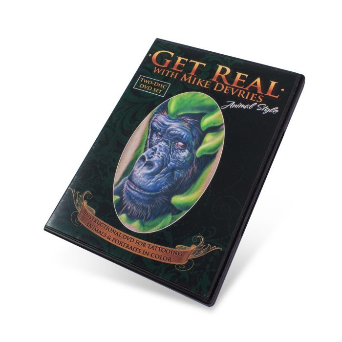 "DVD: ""Mike De Vries Get Real"""