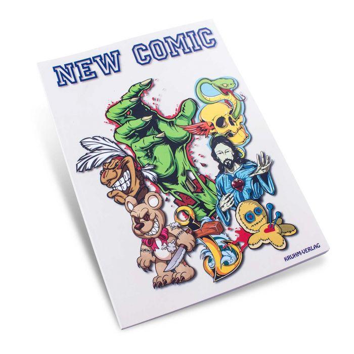"""Książka: """"New Comic"""""""