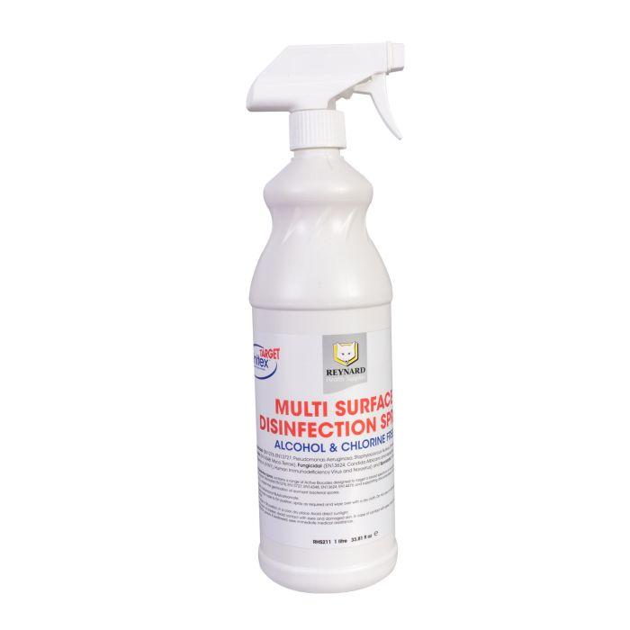 Reynard - odkażający spray do powierzchni różnego typu - bezchlorowy, bezalkoholowy, 1L