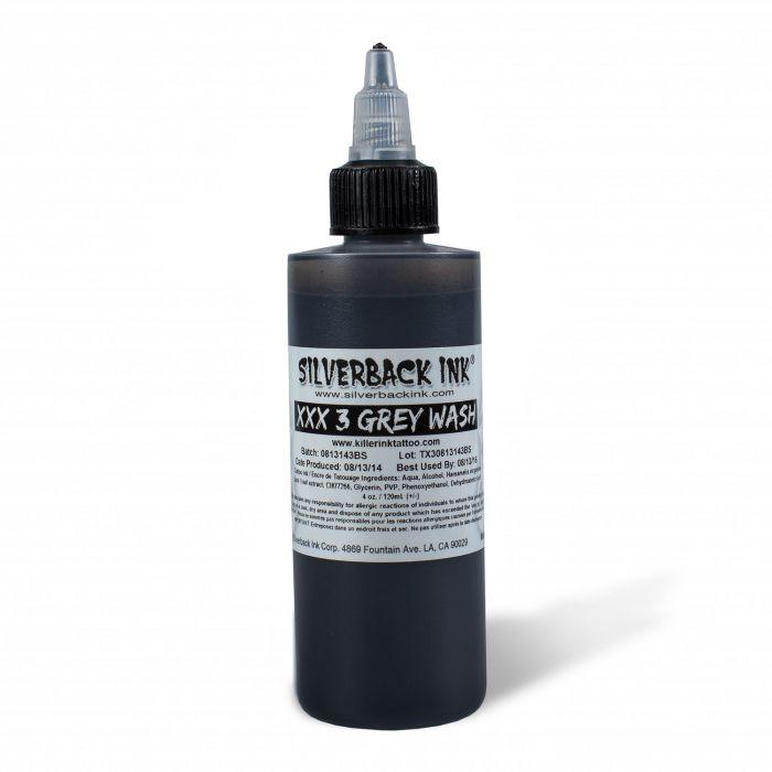 Farba do tatuażu Silverback Ink® XXX Greywash 3 120ml (4oz)