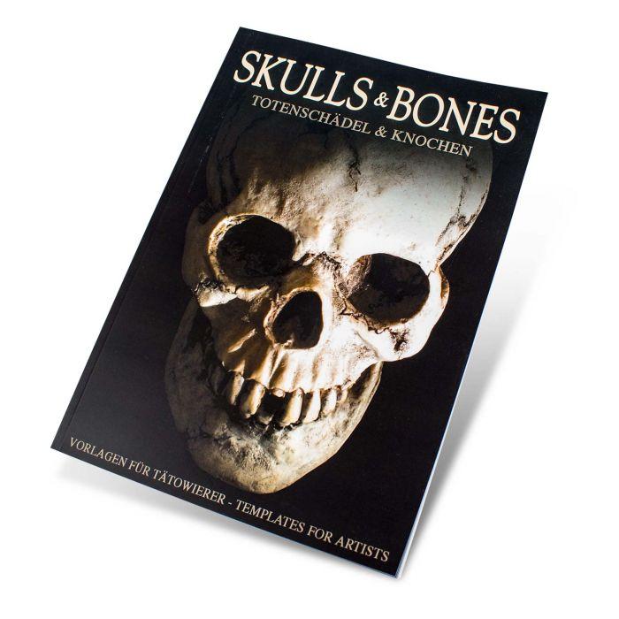 "Książka: ""Skull & Bones - Templates for Artists"""