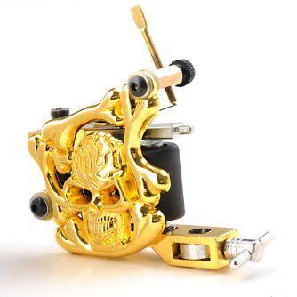 Maszynka do tatuażu Gold Skull Liner / Shader