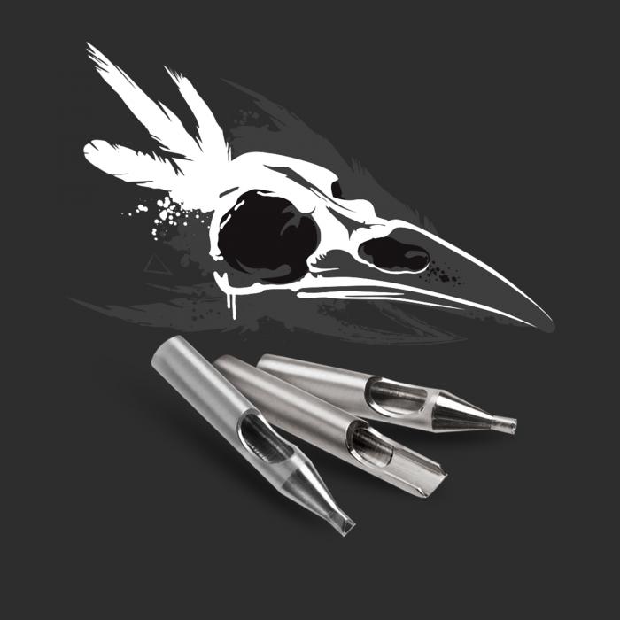 Zestaw dziobów Killer Ink ze stali nierdzewnej 316 - Basic/22szt. - Okrągłe + Diament + Magnum